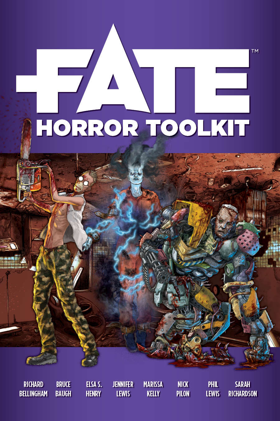 Capa de Resenha - Fate Horror Toolkit