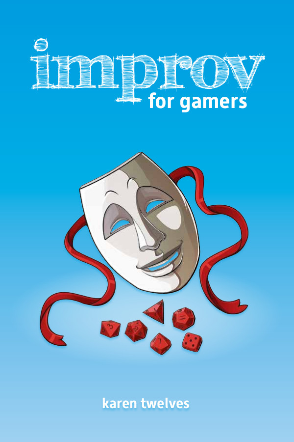 Capa de Resenha - Improv For Gamers