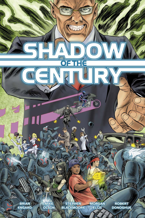 Capa de Resenha - Shadow of the Century