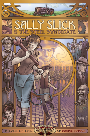 Capa de Resenha - Sally Slick and the Steel Syndicate
